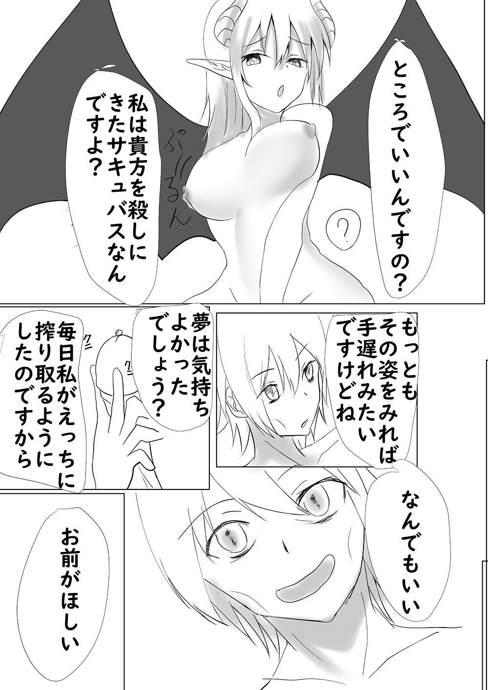 Succubus ni Okasareru Goudoushi 107
