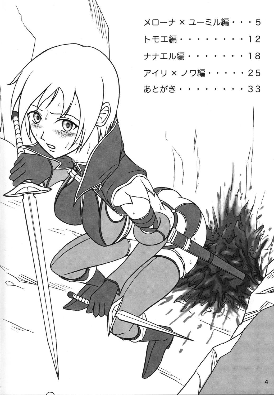 Queen's Blade Scatology EX 2