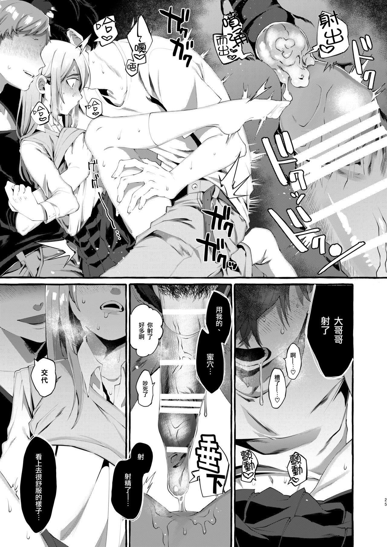 Joshigakusei o Rachi Yuukai Shita to Omottara Otokonoko datta. | 本以为诱拐了女学生却发现是伪娘。 24