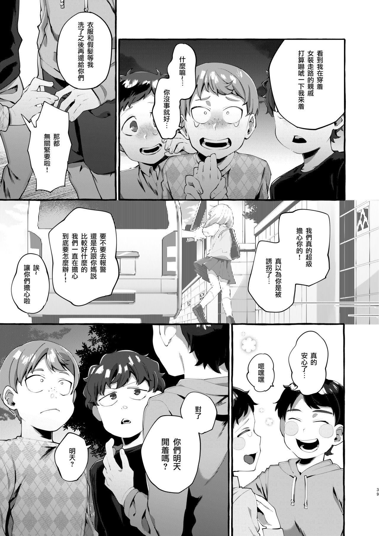 Joshigakusei o Rachi Yuukai Shita to Omottara Otokonoko datta. | 本以为诱拐了女学生却发现是伪娘。 38