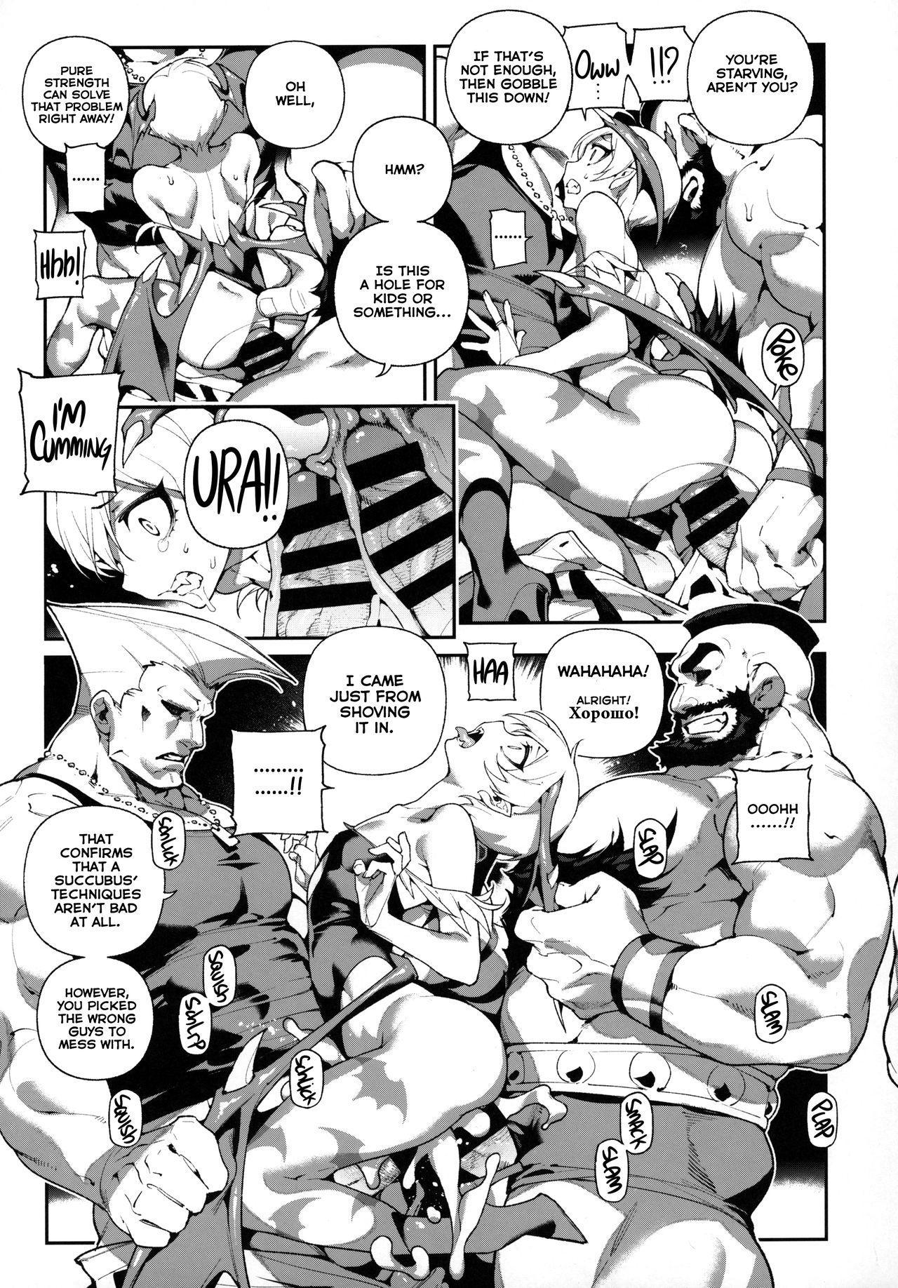 Fighter Girls ・ Vampire 9