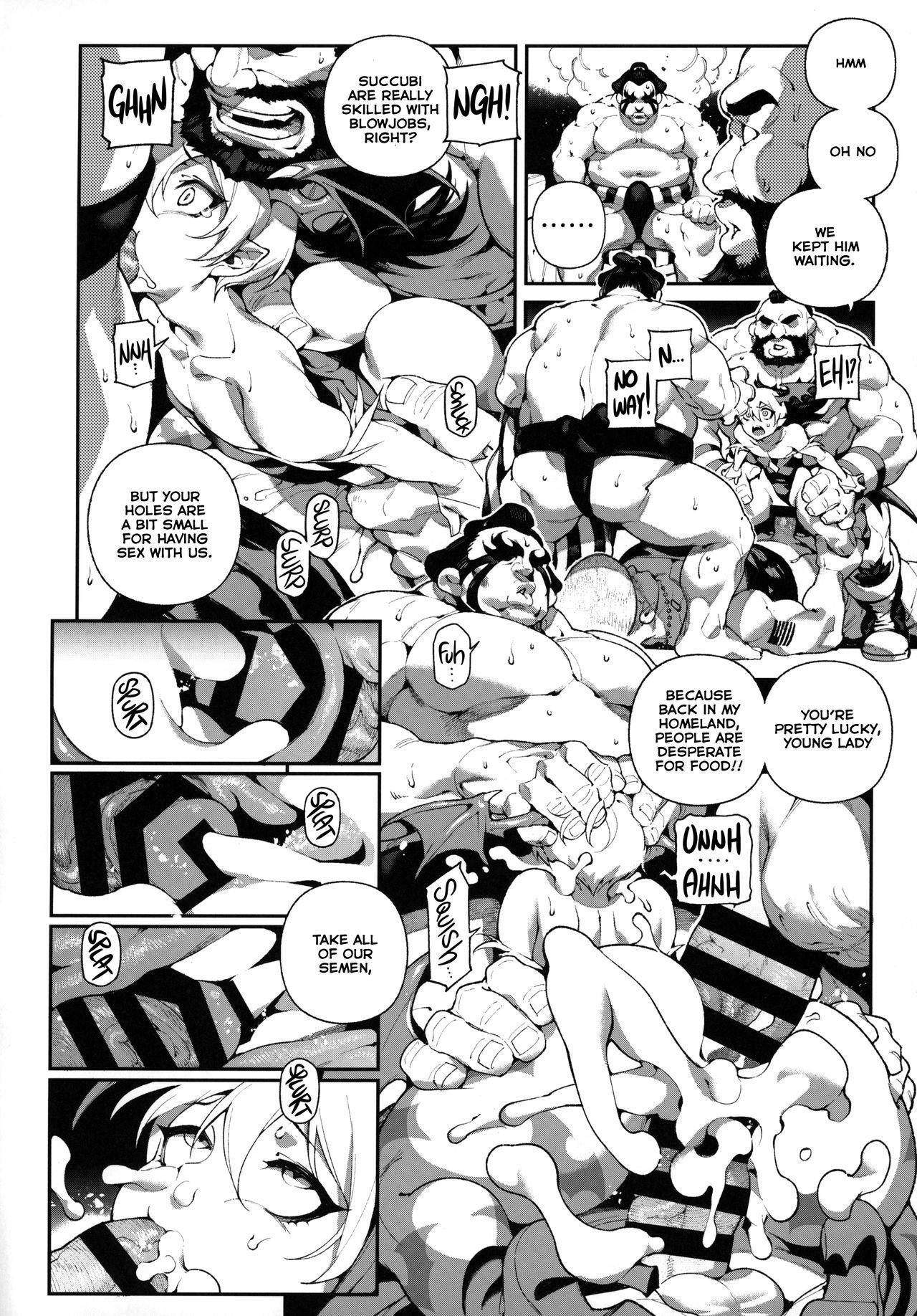 Fighter Girls ・ Vampire 10