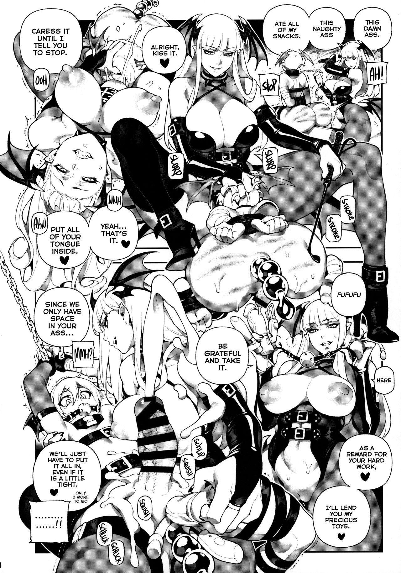Fighter Girls ・ Vampire 18