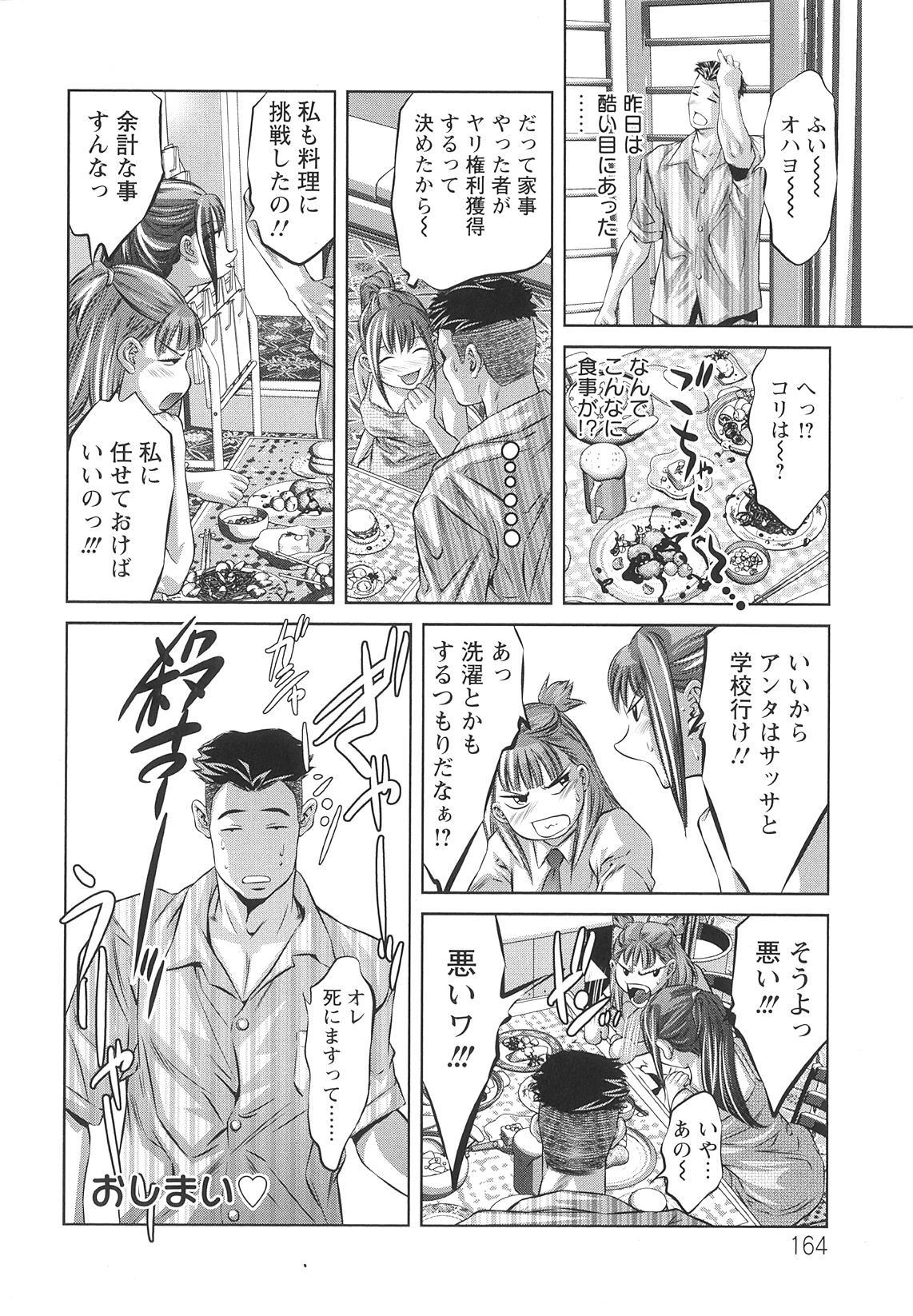 Tsukurareta Shisen 167