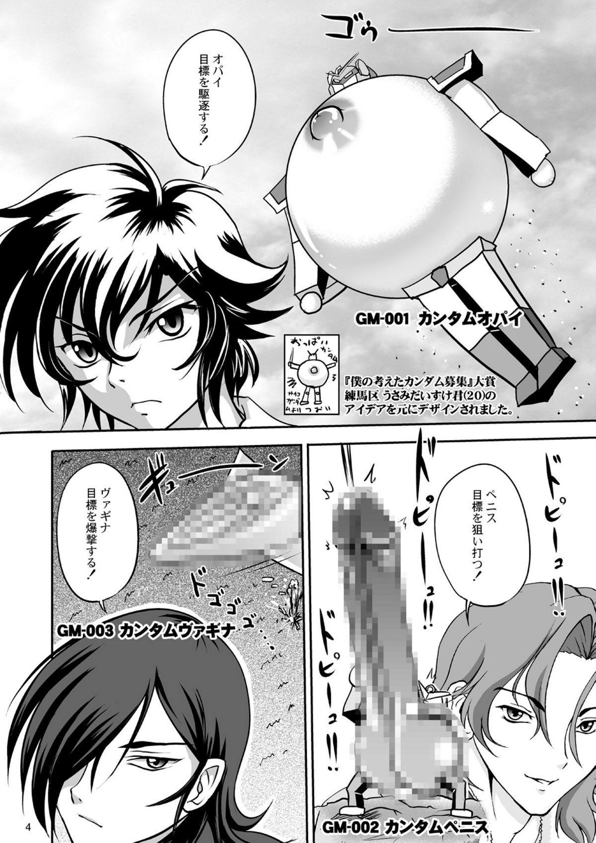 Nyuudou Shinshi Gundam Double Oppai DL han 3