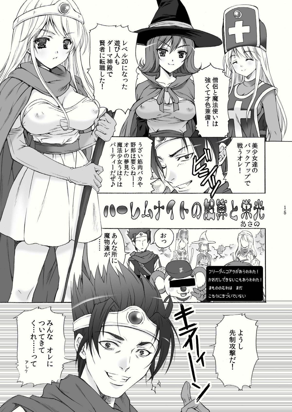 (C79) [Harumankai (Haruma Tokihiko)] Roto Shoujo - Kikan Gentei! hHangaku-chuu ♪ (Dragon Quest III) 14