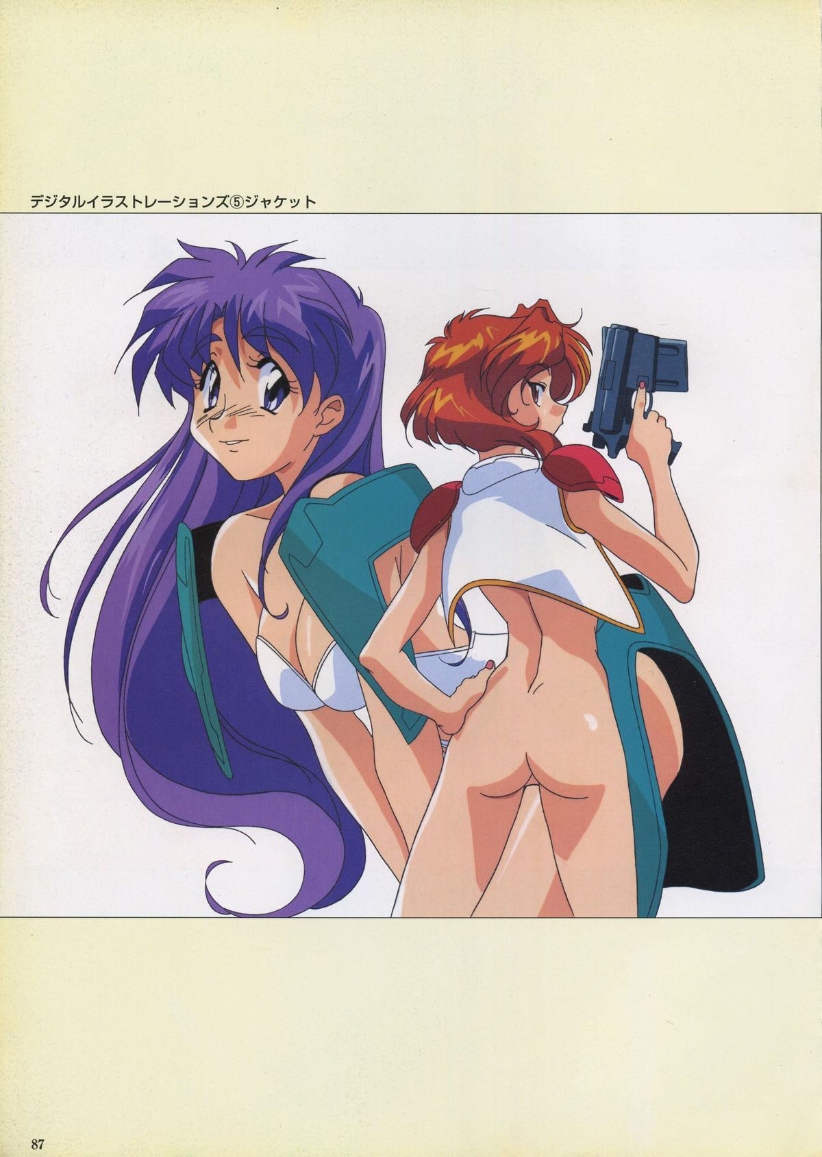 VIPER Series Official Artbook III 89