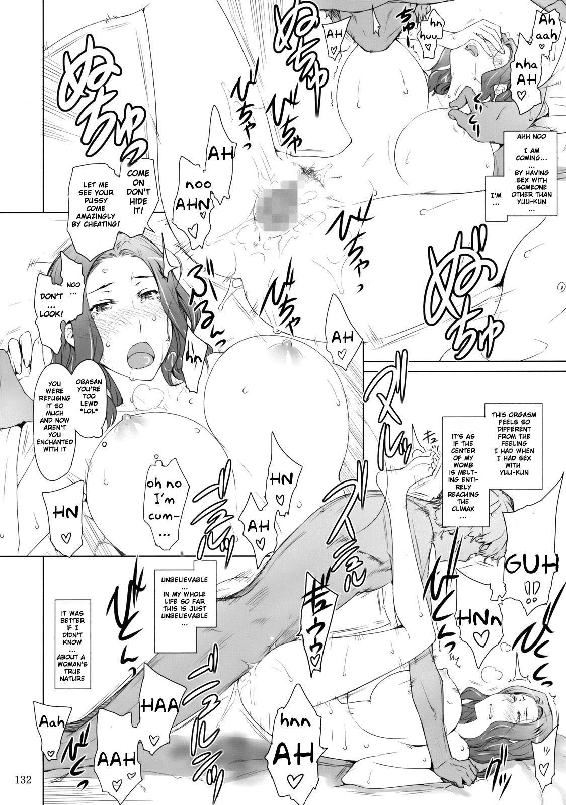 (C81) [MTSP (Jin)] Tachibana-san-chi no Dansei Jijou | Tachibana-san's Circumstances With a Man [English] {doujin-moe.us} 130