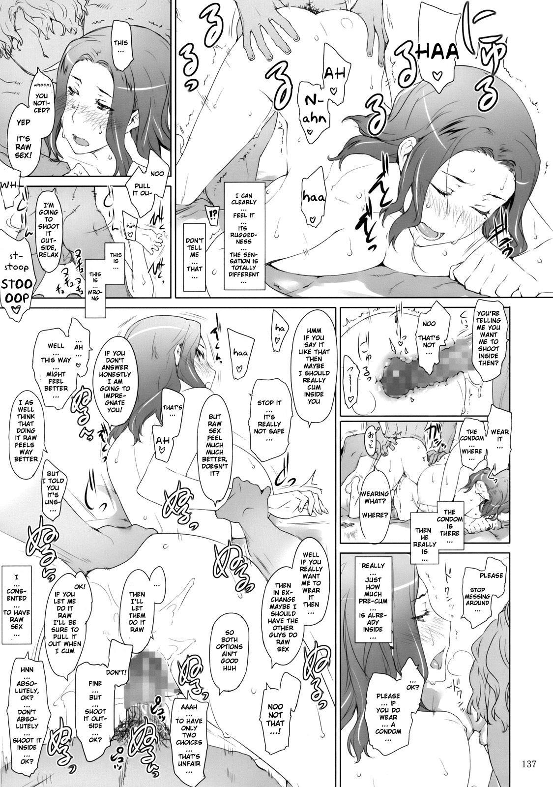 (C81) [MTSP (Jin)] Tachibana-san-chi no Dansei Jijou | Tachibana-san's Circumstances With a Man [English] {doujin-moe.us} 135