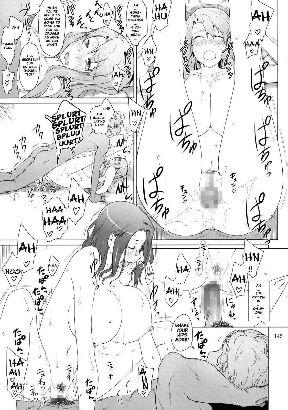 (C81) [MTSP (Jin)] Tachibana-san-chi no Dansei Jijou | Tachibana-san's Circumstances With a Man [English] {doujin-moe.us} 143