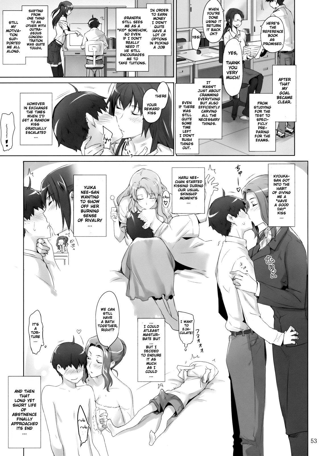 (C81) [MTSP (Jin)] Tachibana-san-chi no Dansei Jijou | Tachibana-san's Circumstances With a Man [English] {doujin-moe.us} 51
