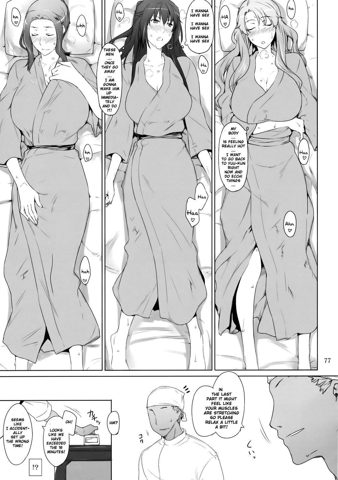 (C81) [MTSP (Jin)] Tachibana-san-chi no Dansei Jijou | Tachibana-san's Circumstances With a Man [English] {doujin-moe.us} 75