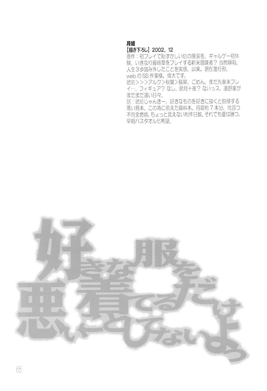 Suki na Fuku wo Kiteru Dake Waruiko Shitenaiyo 66