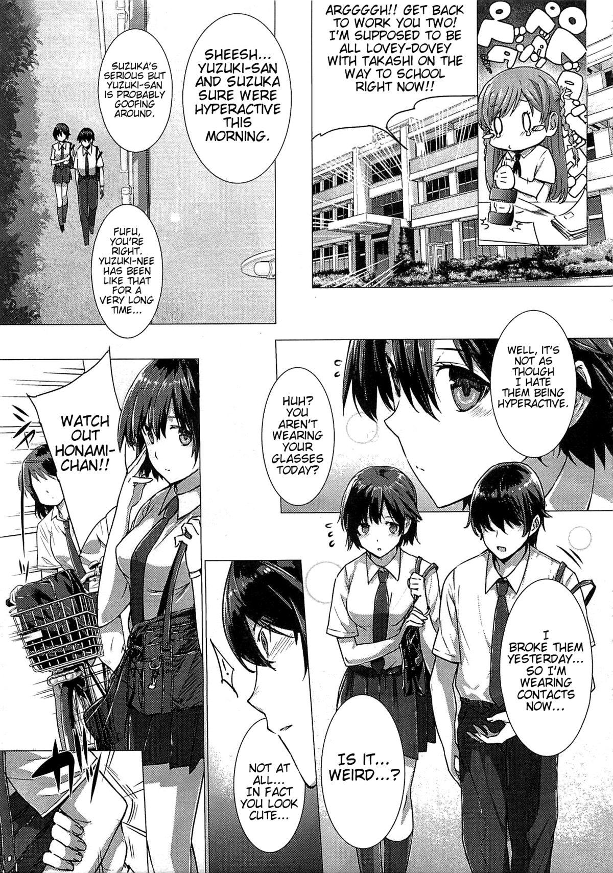 [Katsurai Yoshiaki] Kanojo wa Kazoku de Koibito de Ch. 1-3   She's My Family And My Lover Ch. 1-3 [English] {doujin-moe.us} 32
