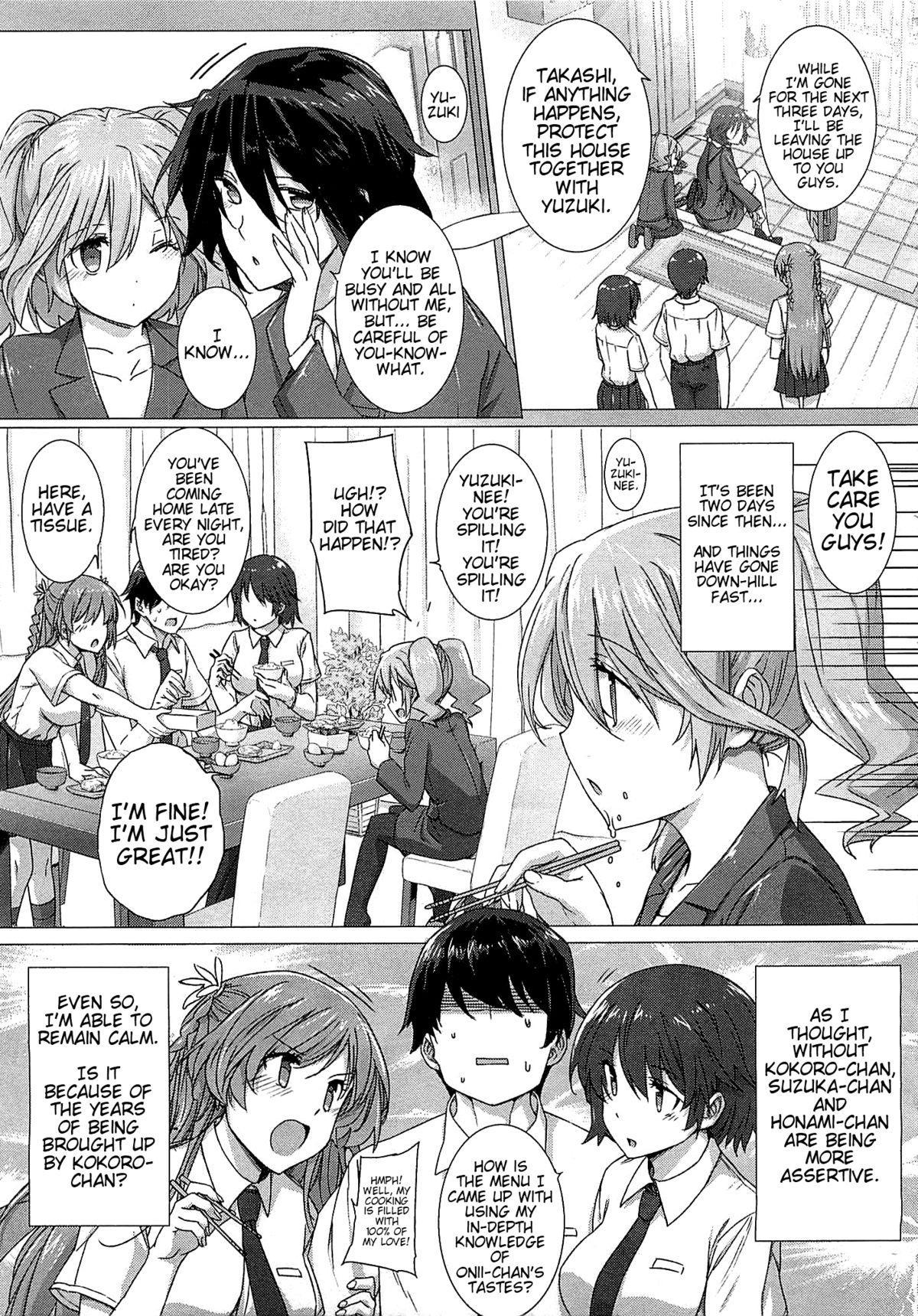 [Katsurai Yoshiaki] Kanojo wa Kazoku de Koibito de Ch. 1-3   She's My Family And My Lover Ch. 1-3 [English] {doujin-moe.us} 62