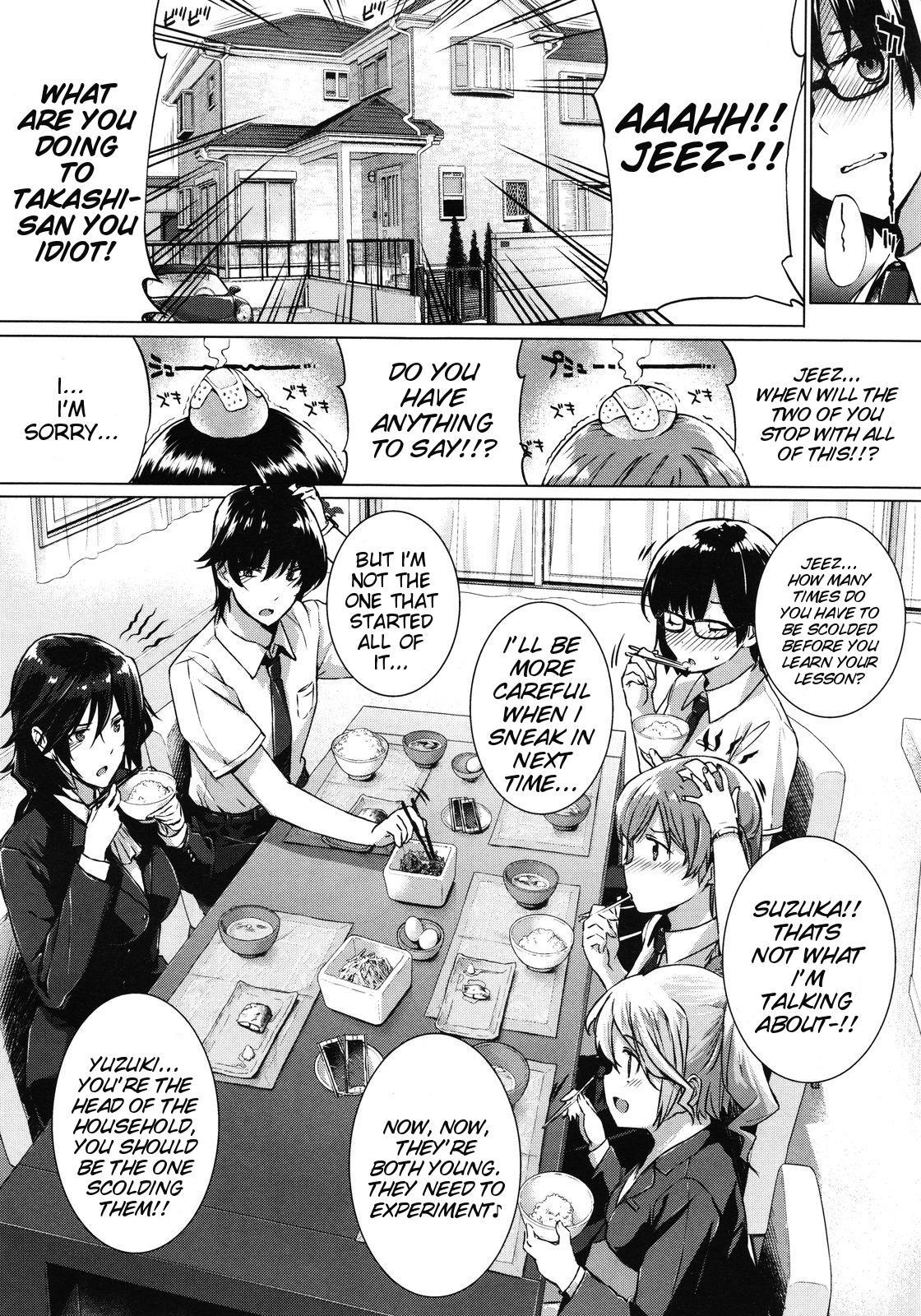 [Katsurai Yoshiaki] Kanojo wa Kazoku de Koibito de Ch. 1-3   She's My Family And My Lover Ch. 1-3 [English] {doujin-moe.us} 7